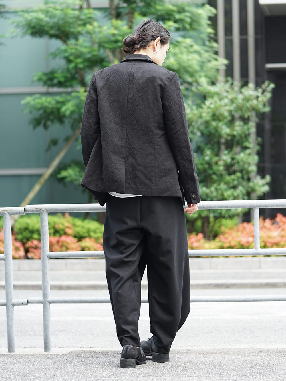 individual sentiments 18-19AW Early Autumn Jacket Style 02