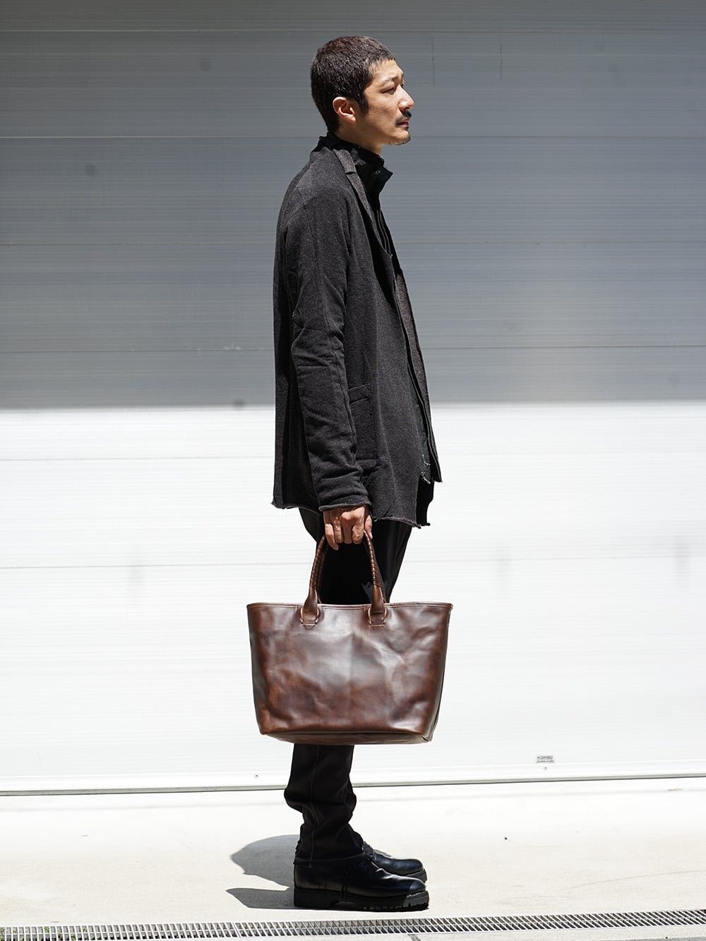 ISAAC SELLAM Zip Design Coat and Pants Style 06