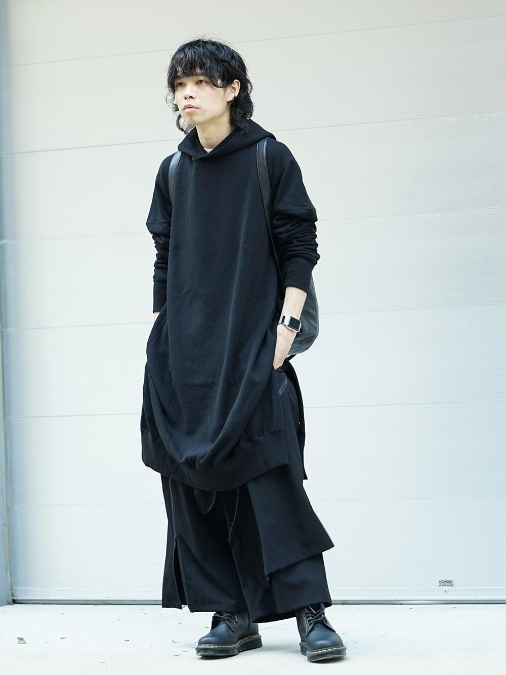 B Yohji Yamamoto 18AW Arm Pit Slit Parka Style 01