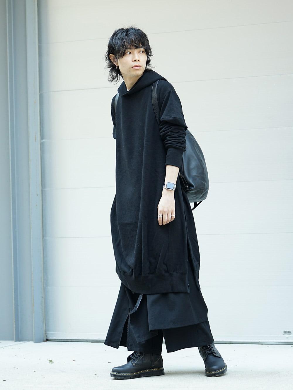 B Yohji Yamamoto 18AW Arm Pit Slit Parka Style 02