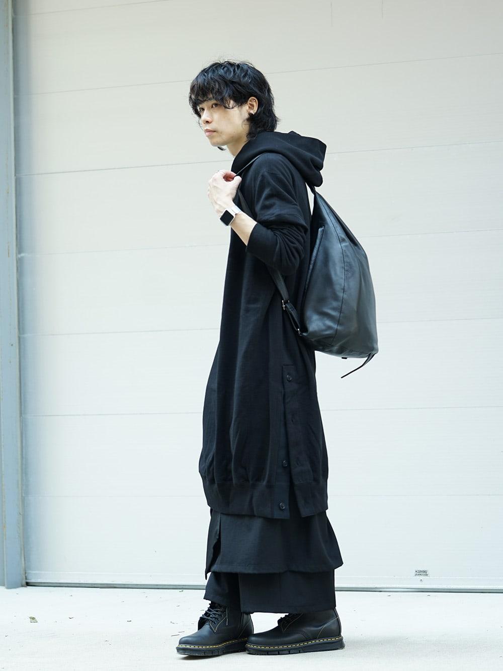 B Yohji Yamamoto 18AW Arm Pit Slit Parka Style 03