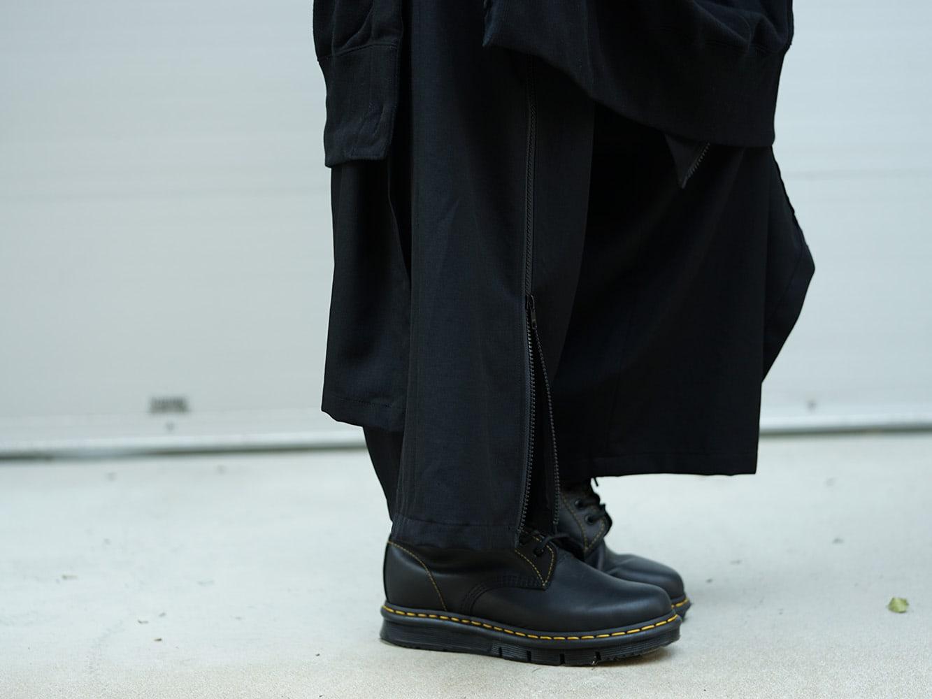 B Yohji Yamamoto 18AW Arm Pit Slit Parka Style 06