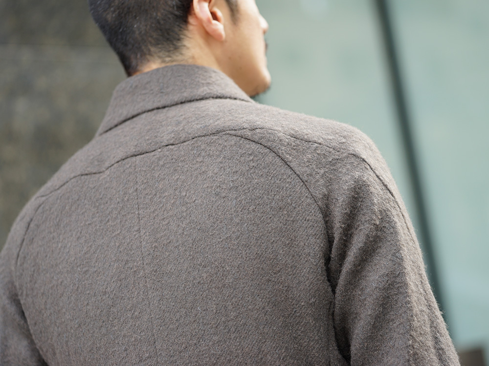 DEVOA 18-19AW Camel / Linen Coat & Jacket style FW18-19-009