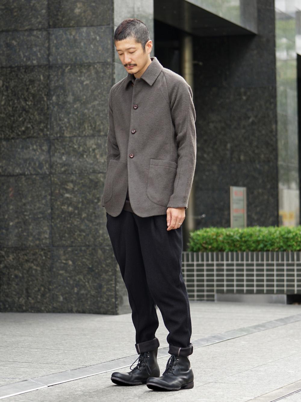 DEVOA 18-19AW Camel / Linen Coat & Jacket style FW18-19-003