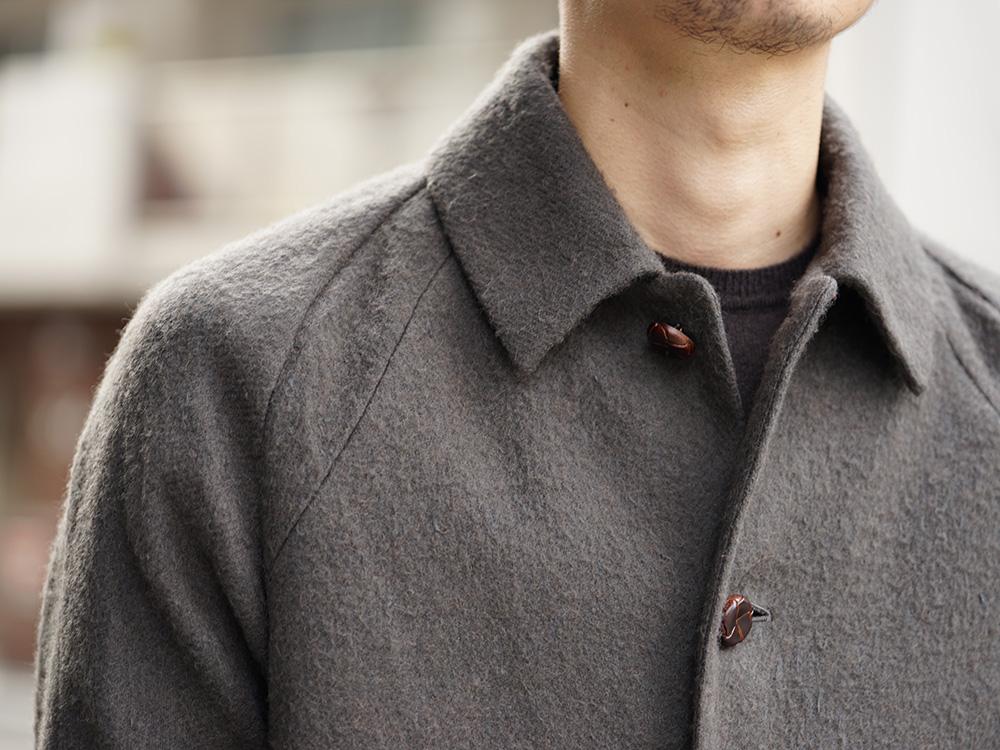 DEVOA 18-19AW Camel / Linen Coat & Jacket style FW18-19-007