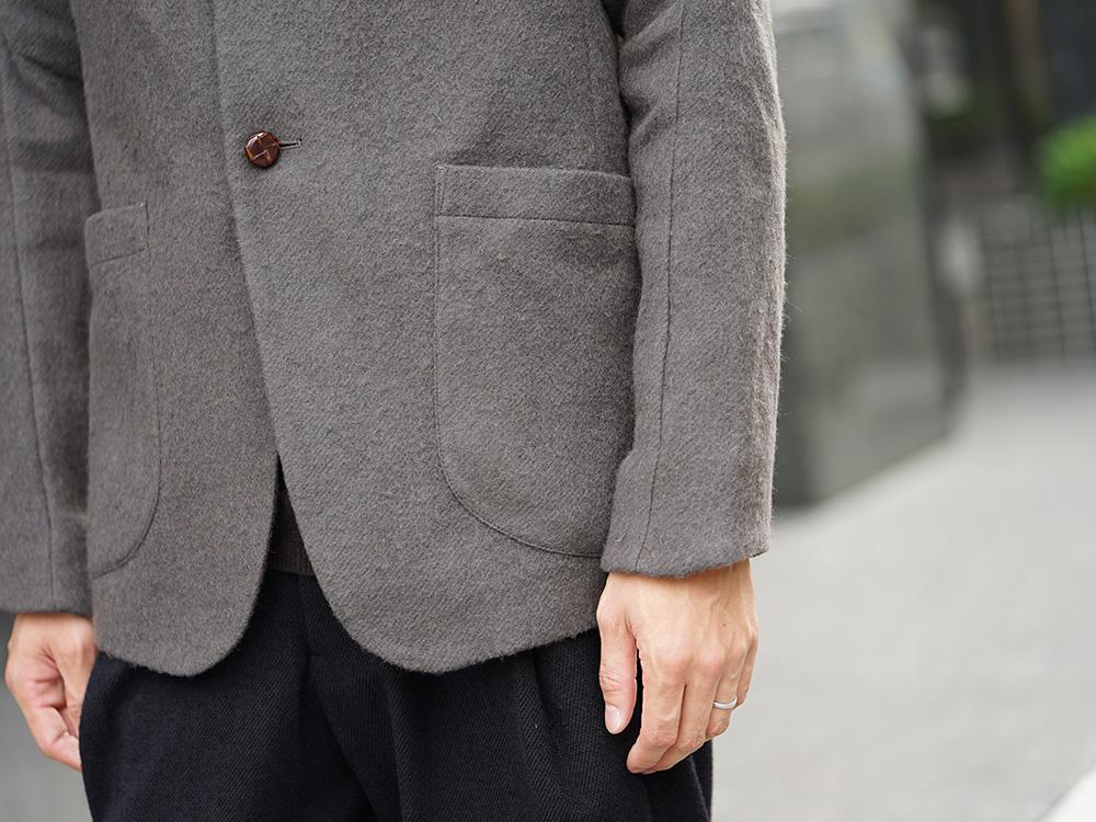 DEVOA 18-19AW Camel / Linen Coat & Jacket style FW18-19-008