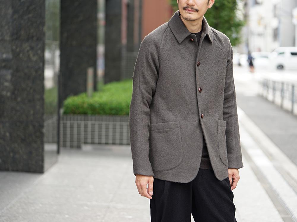 DEVOA 18-19AW Camel / Linen Coat & Jacket style FW18-19-005
