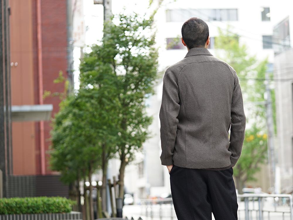 DEVOA 18-19AW Camel / Linen Coat & Jacket style FW18-19-006