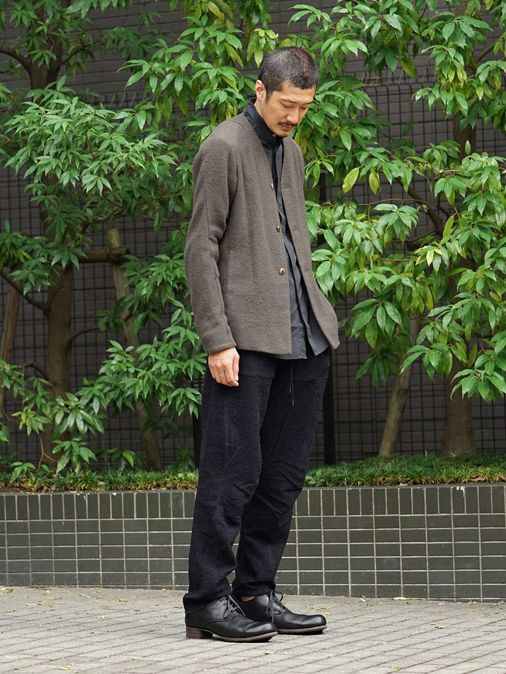 DEVOA 18-19AW Camel / Linen Coat & Jacket style FW18-19-012