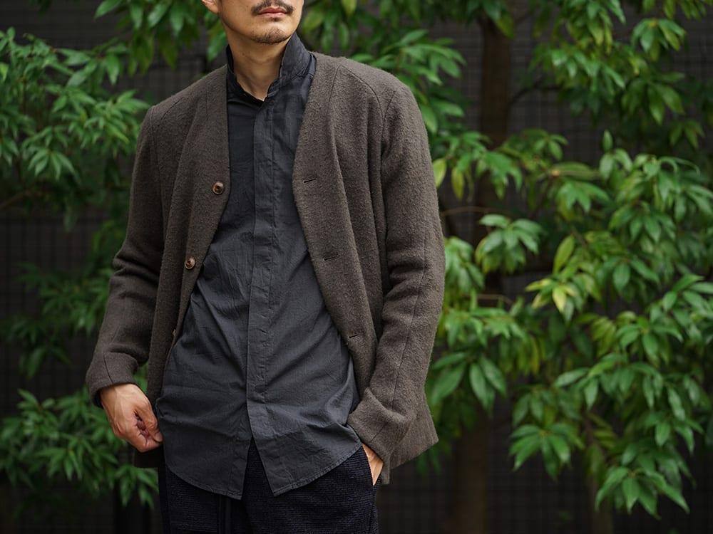 DEVOA 18-19AW Camel / Linen Coat & Jacket style FW18-19-015