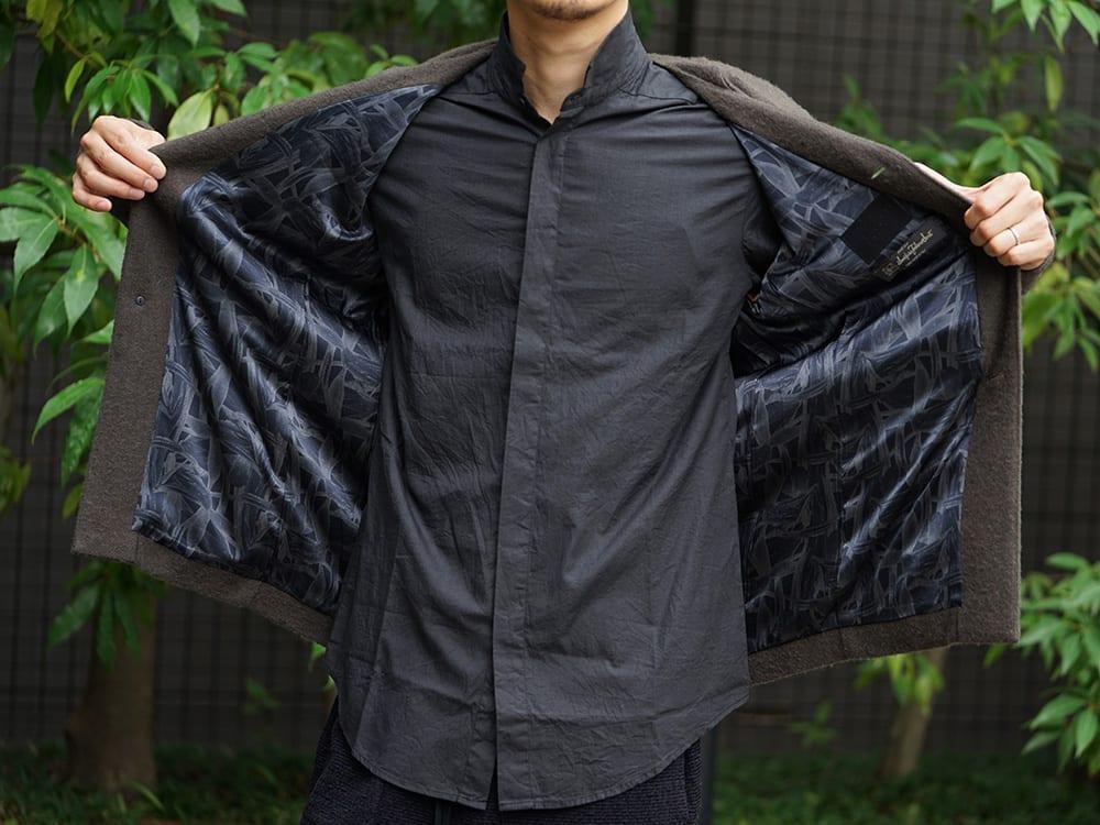 DEVOA 18-19AW Camel / Linen Coat & Jacket style FW18-19-018