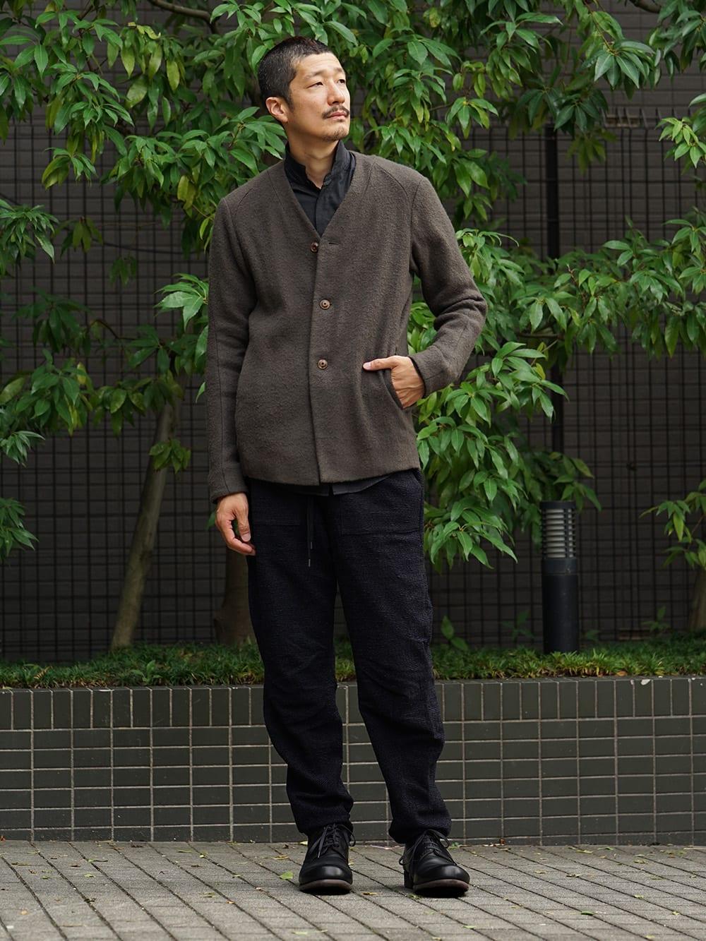 DEVOA 18-19AW Camel / Linen Coat & Jacket style FW18-19-010