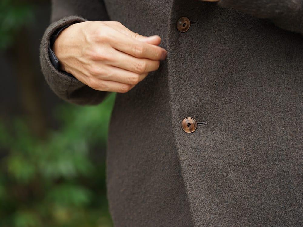 DEVOA 18-19AW Camel / Linen Coat & Jacket style FW18-19-017