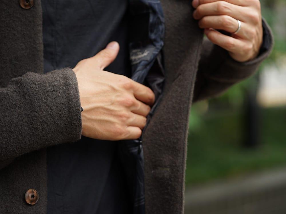 DEVOA 18-19AW Camel / Linen Coat & Jacket style FW18-19-019
