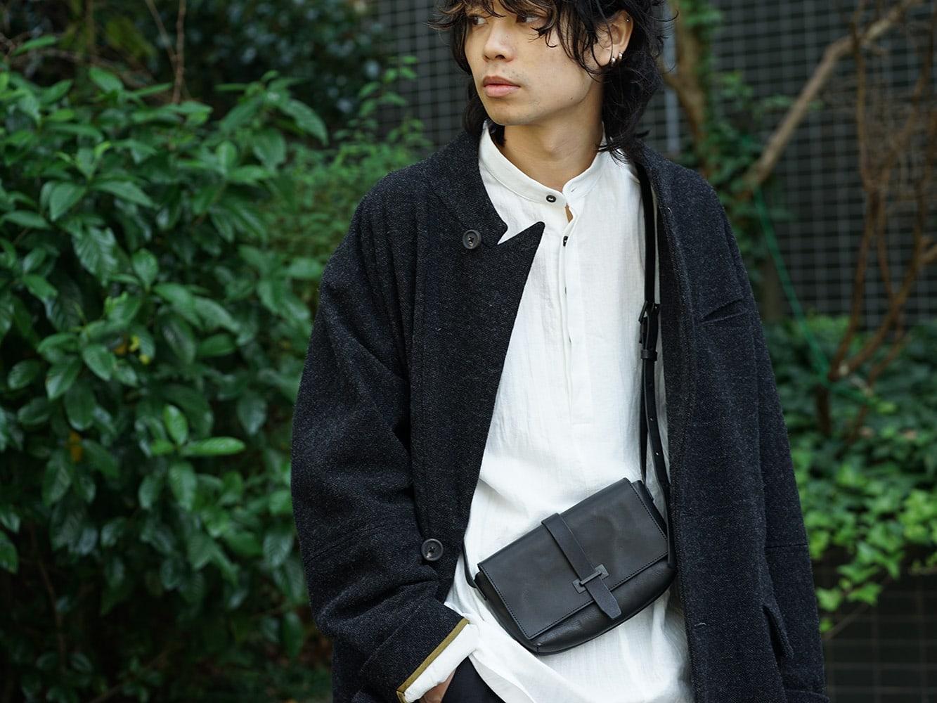 ZIGGY CHEN 18AW No Collar Coat Style 07