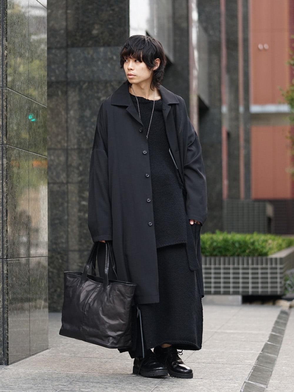 Yohji Yamamoto x B Yohji Yamamoto 18AW 2way Style 02