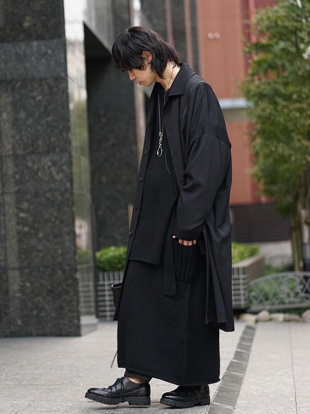 Yohji Yamamoto x B Yohji Yamamoto 18AW 2way Style 03