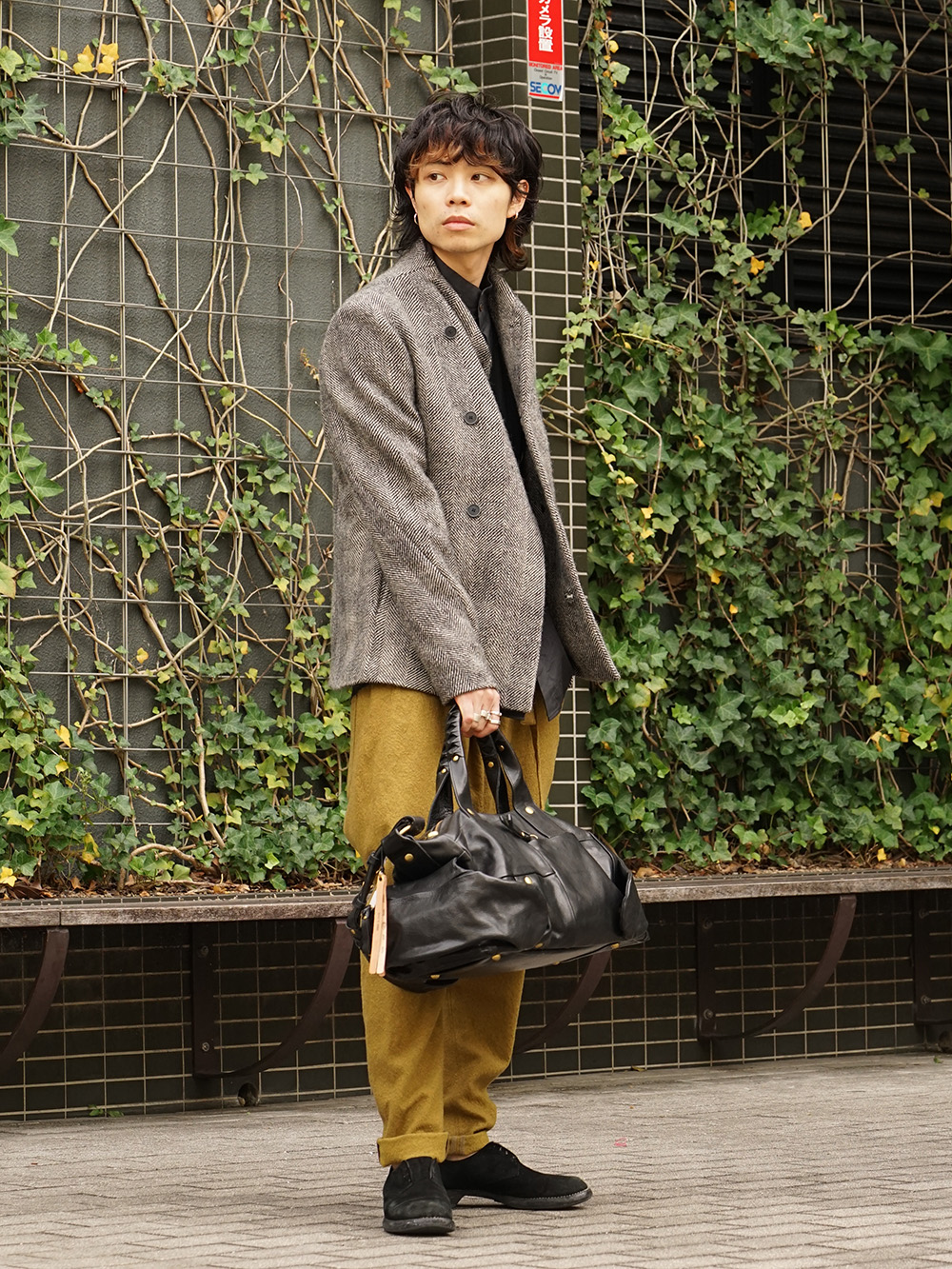 hannibal. 18AW Recommended Jacket Style 01