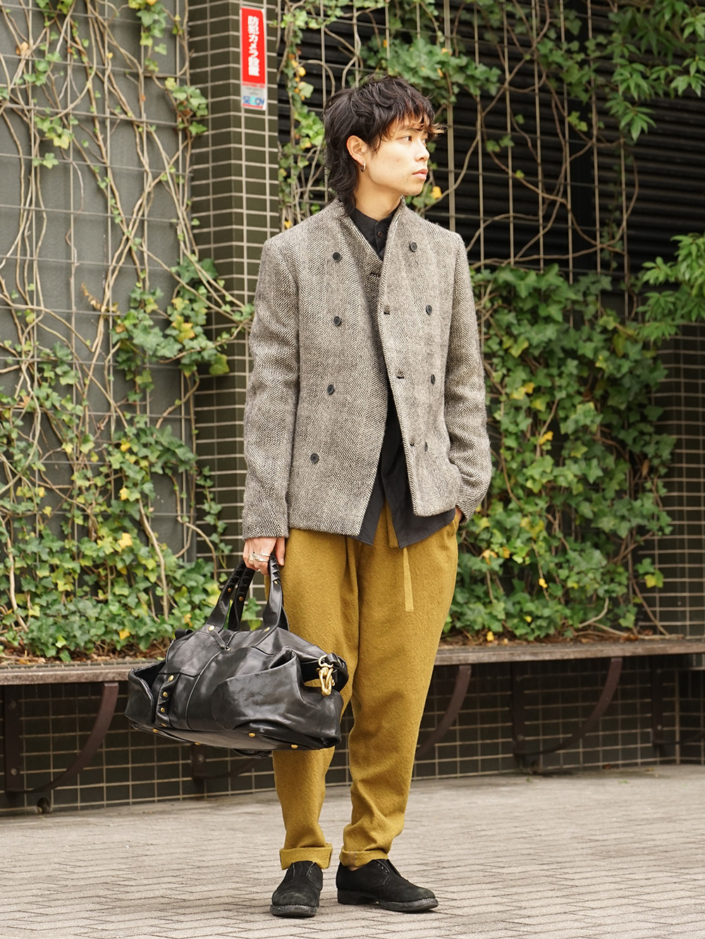 hannibal. 18AW Recommended Jacket Style 02