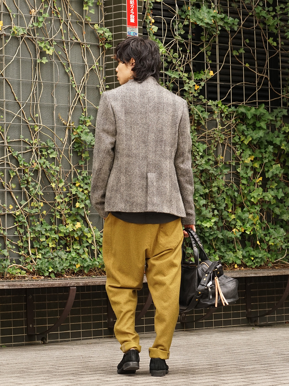 hannibal. 18AW Recommended Jacket Style 04