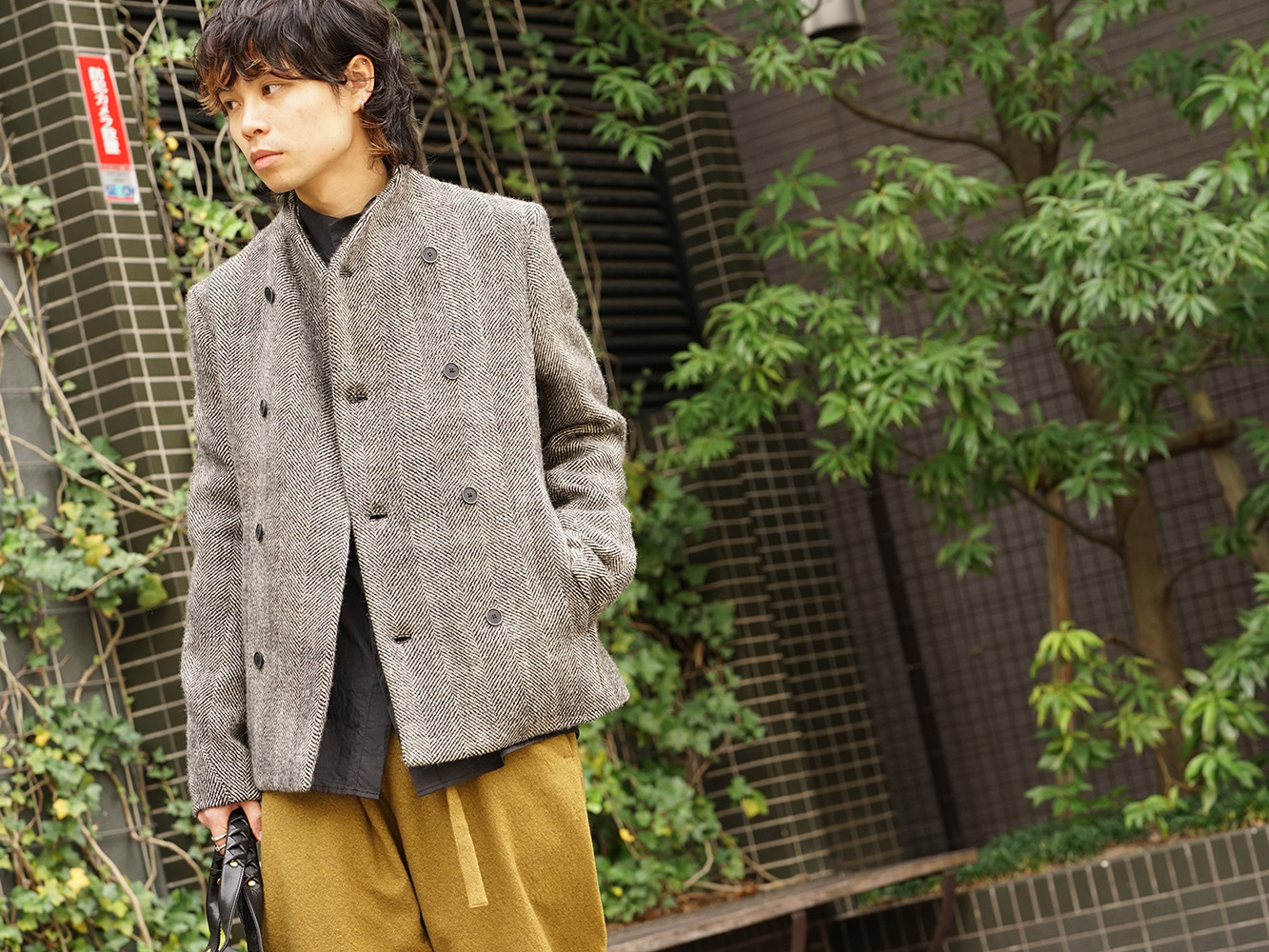 hannibal. 18AW Recommended Jacket Style 05
