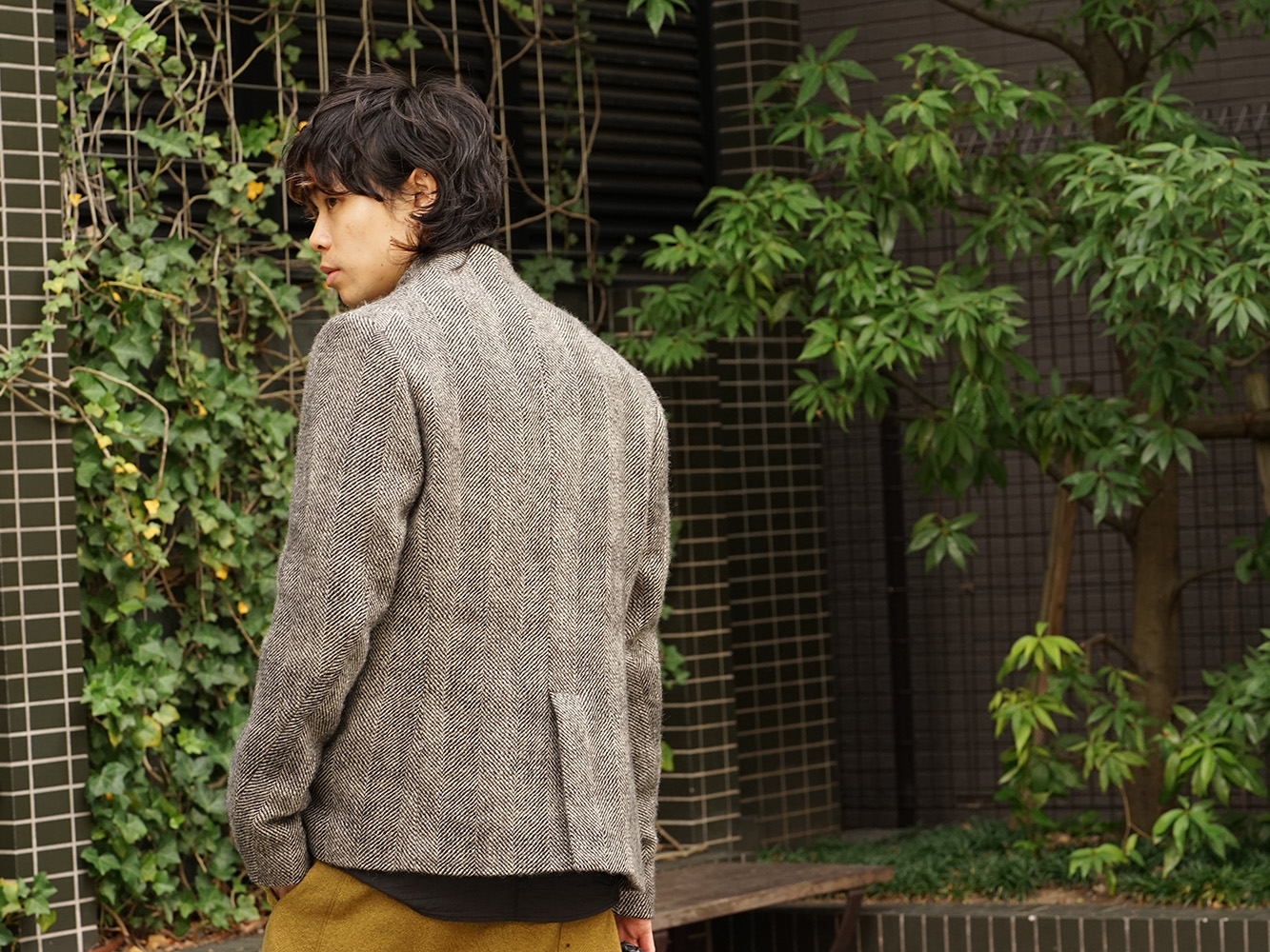 hannibal. 18AW Recommended Jacket Style 08