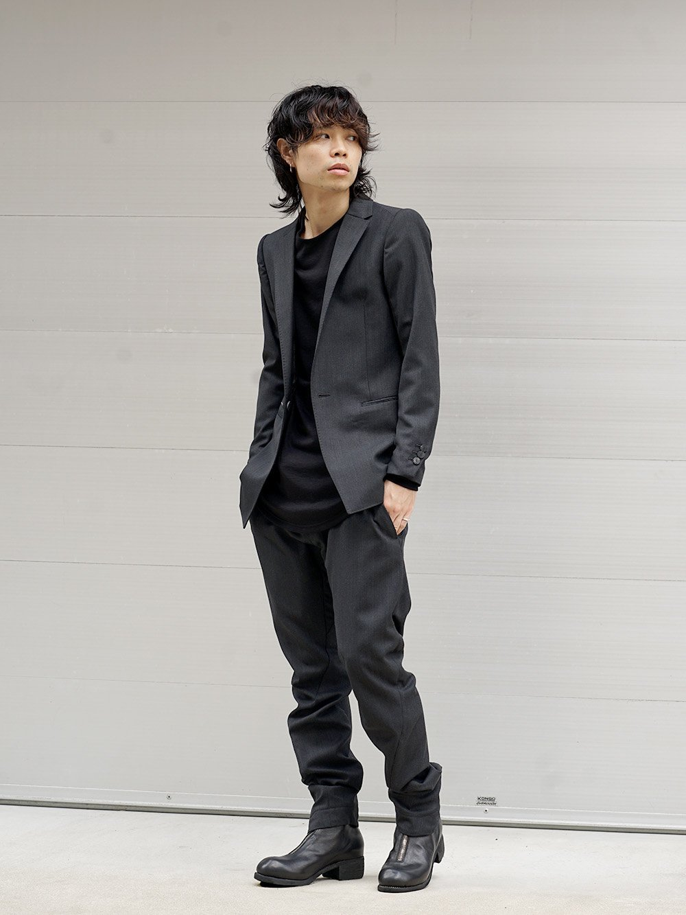 DEVOA 18-19AW Tailored Jacket Style 01