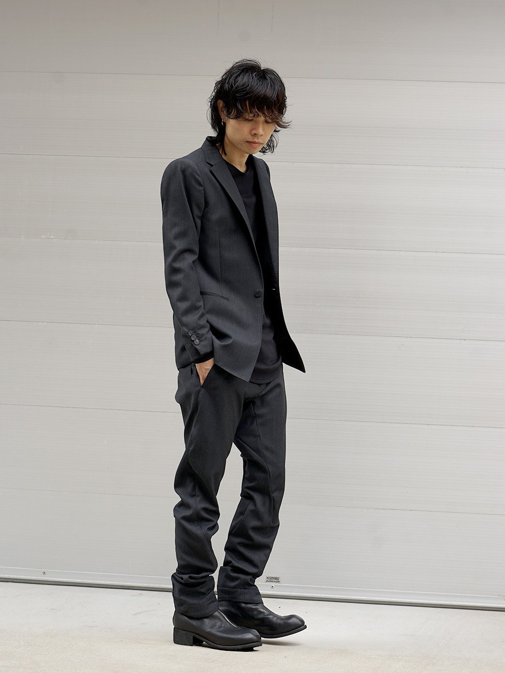 DEVOA 18-19AW Tailored Jacket Style 02