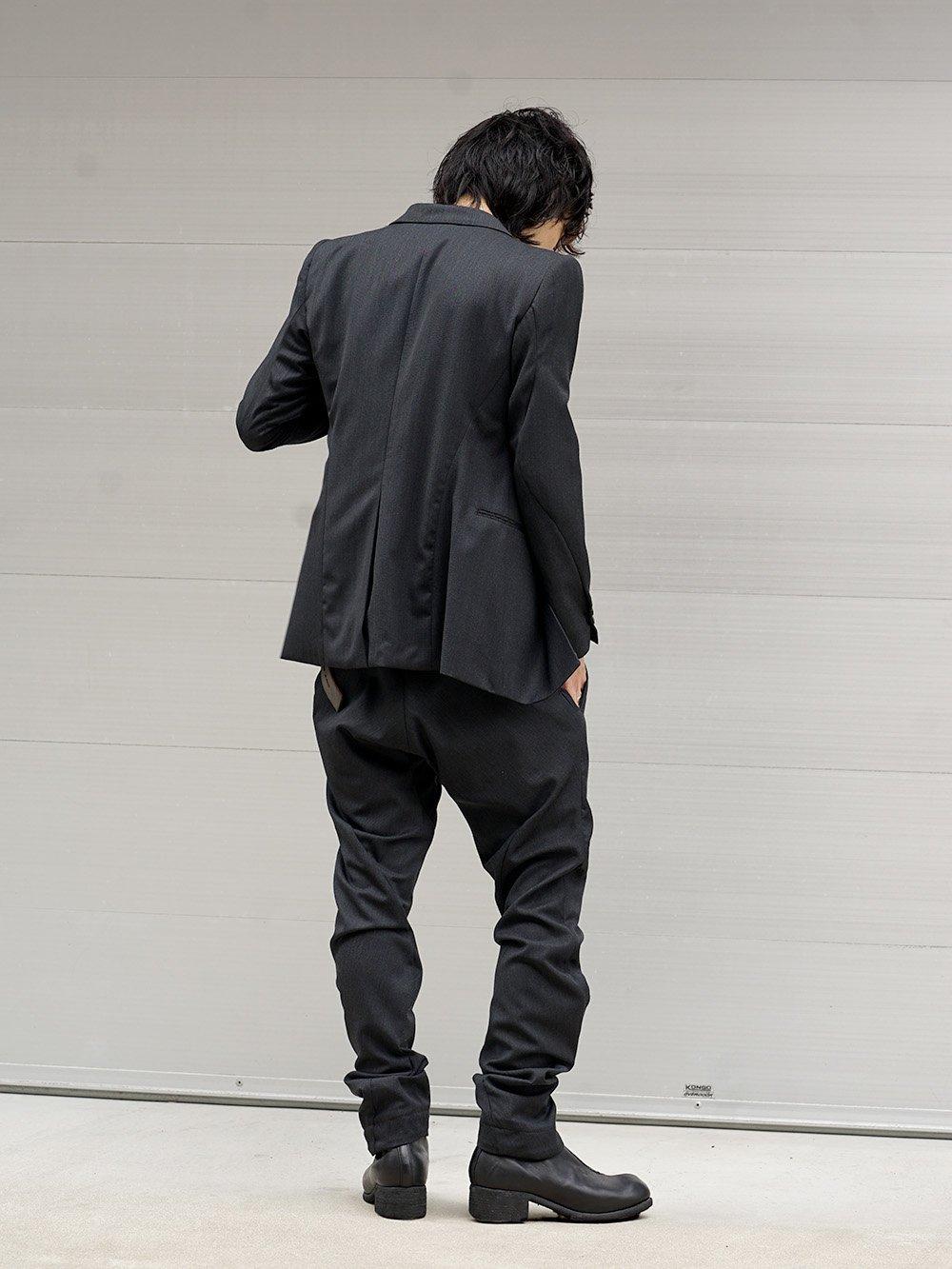 DEVOA 18-19AW Tailored Jacket Style 03