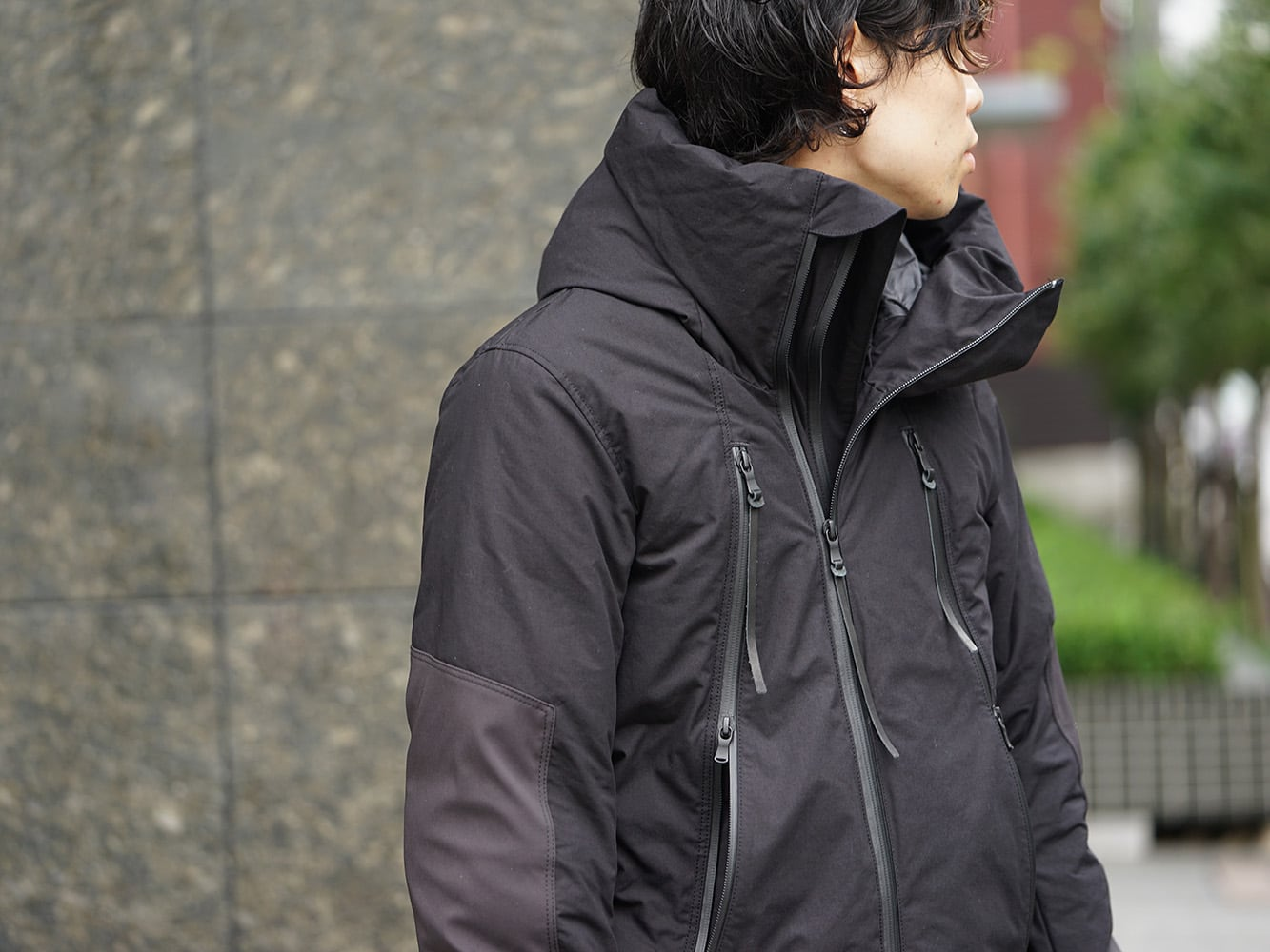 The Viridi-anne x RIPVANWINKLE Collaboration Down Jacket