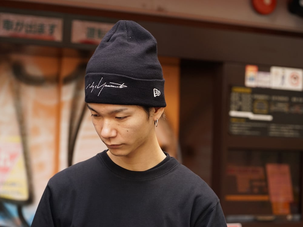 Yohji Yamamoto 18AW B disocrd Mix Style 01