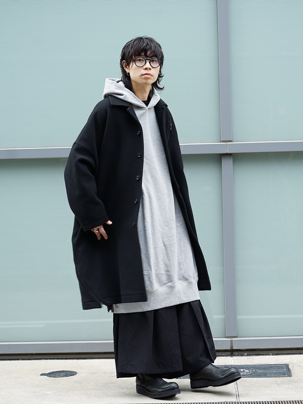 Yohji Yamamoto Setup x Jacket Style 02