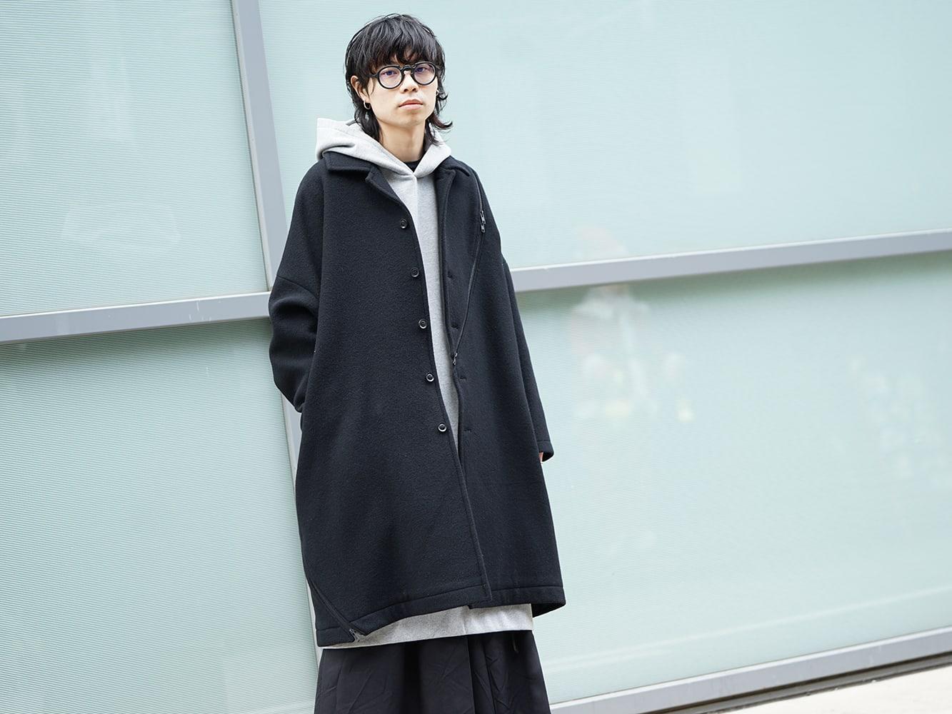 Yohji Yamamoto Setup x Jacket Style 06