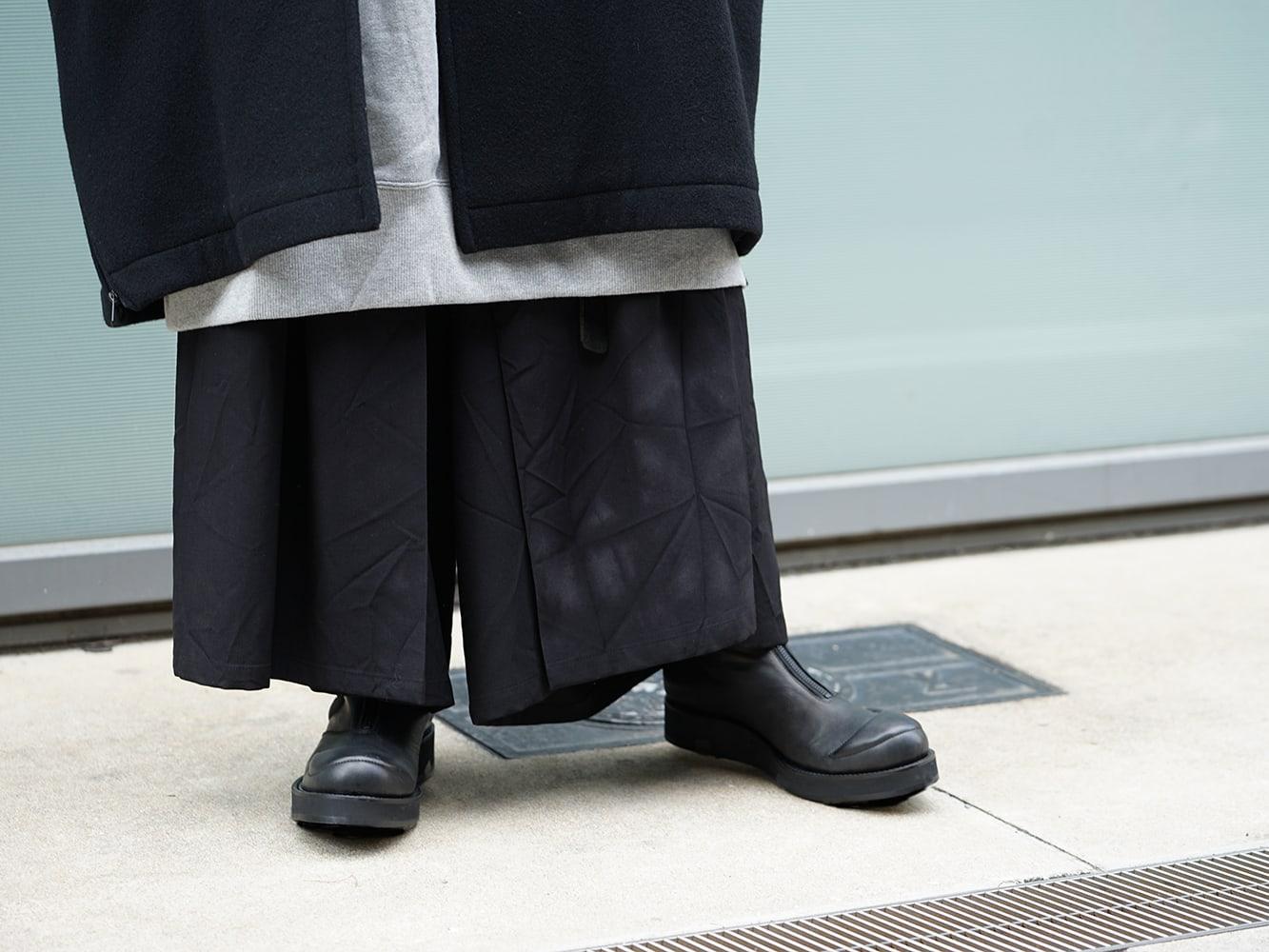 Yohji Yamamoto Setup x Jacket Style 09