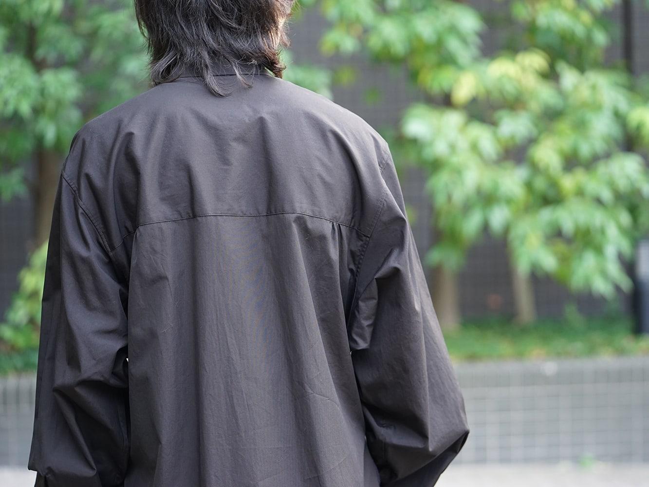 Yohji Yamamoto 19SS Message Print Staff Shirt style 07