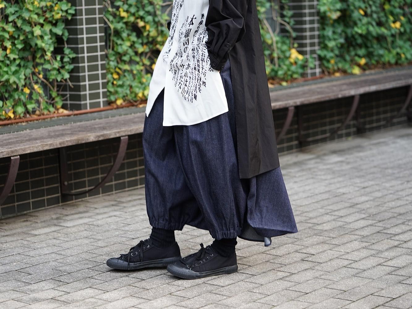 Yohji Yamamoto 19SS Message Print Staff Shirt style 09