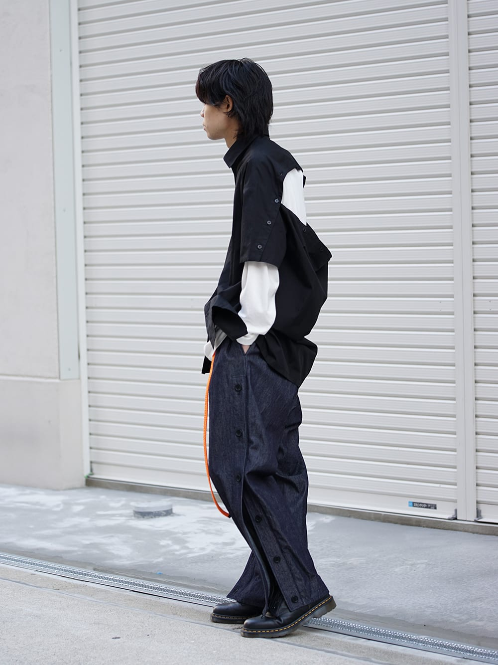 Yohji Yamamoto 19SS x B YY Mix Style 02