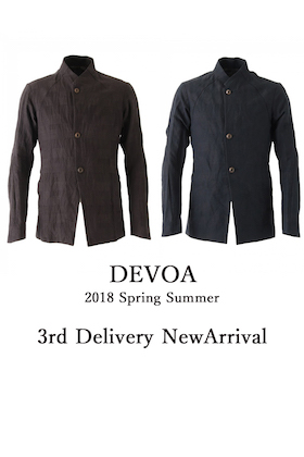 DEVOA 18SS 3rd Delivery New Arrival