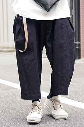 Yohji Yamamoto Side Tuck Pants Style