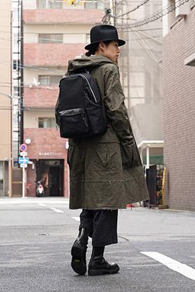 The Viridi-anne 18SS High Density Weather Hood Coat Style