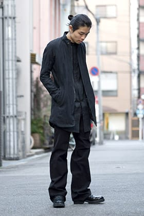 DEVOA 18SS Linen × Washi items Style