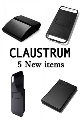 5 New items from CLAUSTRUM