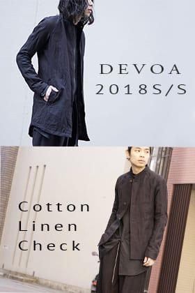 DEVOA 18SS Recommend Check Tops