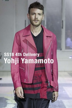 Yohji Yamamoto 18SS 4th Delivery New Arrival