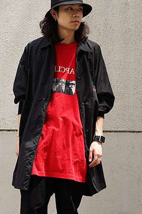 JULIUS Parking Collection Red x Black Style