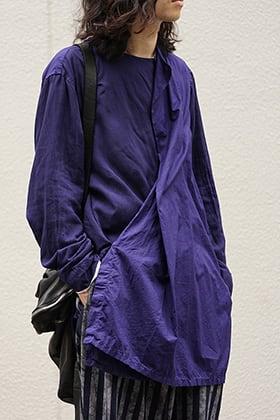 Yohji Yamamoto SS18 Left Front Double Switching Shirt Style