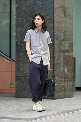 individual sentiments SS18 Short Sleeve Shirt Style
