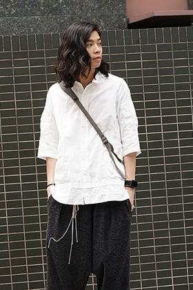 The Viridi-anne SS18 White Shirt Style