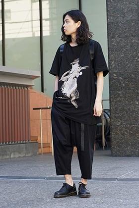 Yohji Yamamoto AW18 Casual Style