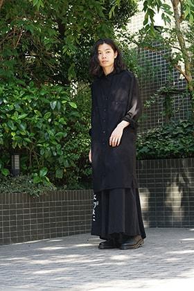 Yohji Yamamoto Asymmetry shirt Style